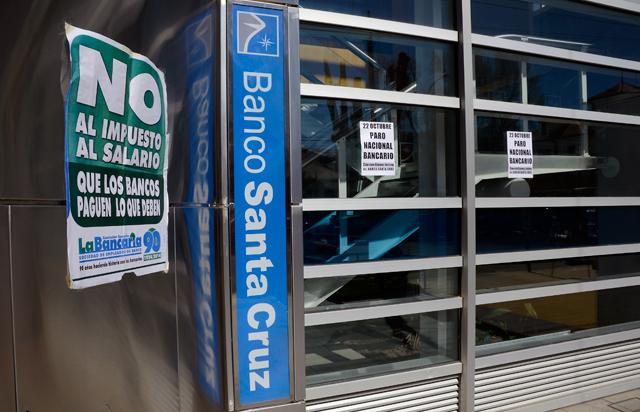 No habrá bancos por una huelga nacional