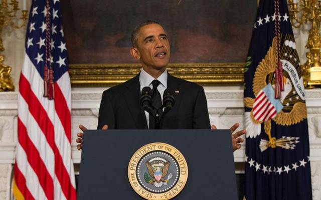 "Obama anunció que EEUU ""levanta el ancla del pasado"" y modera el bloqueo a Cuba"