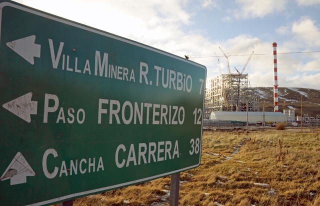 El día de la mentira: hoy NO se inaugura la usina de Río Turbio y no estará en servicio hasta diciembre de 2015 - Foto: OPI Santa Cruz/Francisco Muñoz