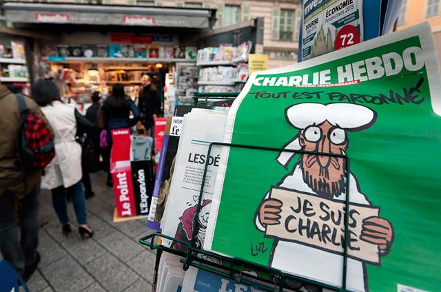 Se agotó el número de Charlie Hebdo