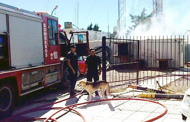 Un sospechoso incendio en el municipio de Caleta Olivia, está en el ojo de la tormenta política - Foto: Gentileza La Vanguardia del Sur