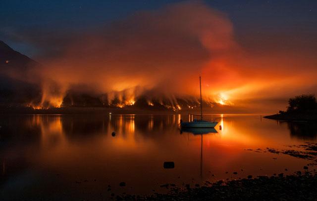 El fuego ha consumido más de 50 mil Has desde que se descubrió el primer foco de incendio
