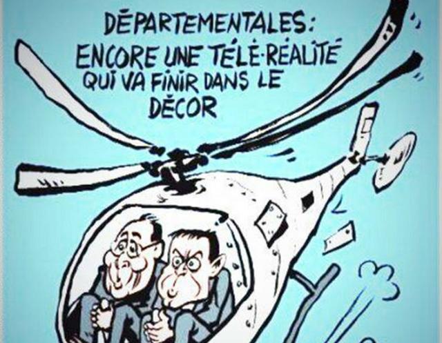 El accidente de helicópteros en La Rioja es tapa de Charlie Hebdo