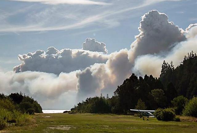 Sancionaron Ley para prohibir por 10 años venta de tierras siniestradas por el fuego en Chubut