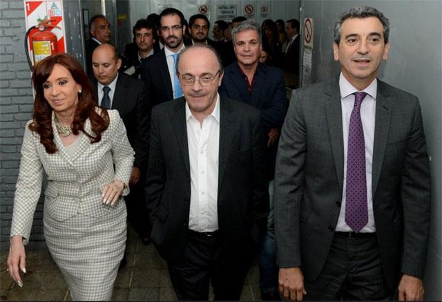 Cristina compartió un acto con los radicales K - Foto: Presidencia