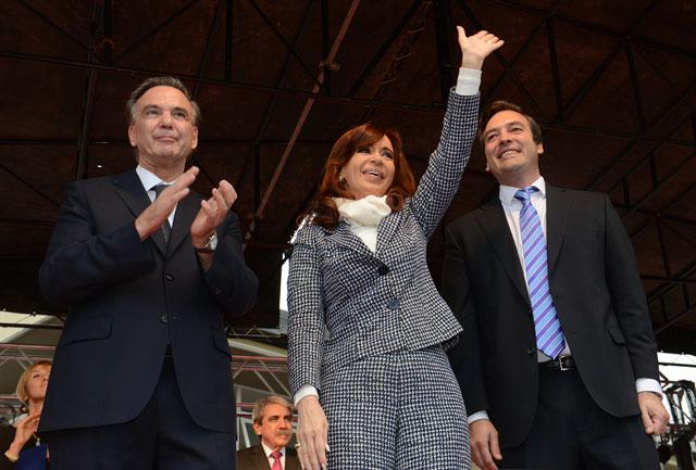 La Presidente hizo campaña con Pichetto y defendió a Kicillof