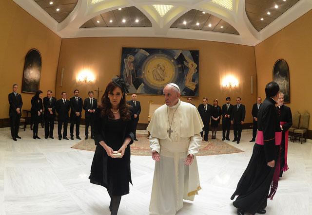 Cristina Kirchner se reunió con Francisco -  Foto: Presidencia