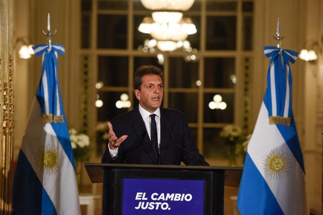 """""""Voy a ser presidente de los argentinos"""""""