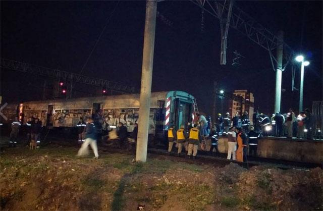 Un tren embistió a una locomotora en Temperley: 45 heridos