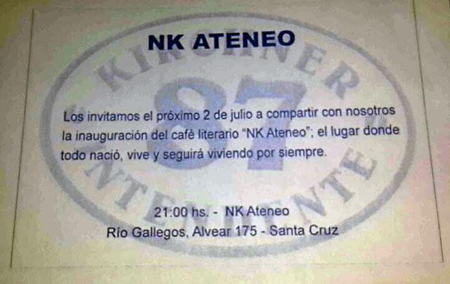 """Alicia, Zannini, Scioli y Máximo inauguran el """"Café literario Ateneo NK"""" en medio de una ciudad convulsionada - Foto:"""
