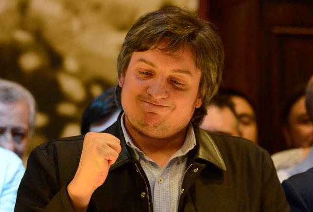 Aplastante derrota de Máximo, medido mano a mano en una encuesta con Héctor Roquel - Foto: OPI Santa Cruz/Francisco Muñoz