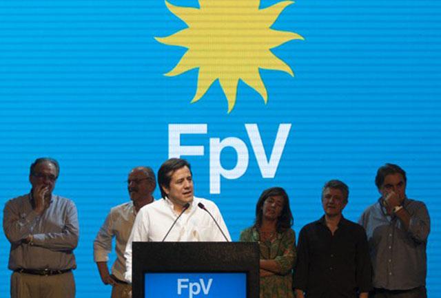 El Gobierno dejó en soledad al candidato del FPV y buscó capitalizar votos desde La Rioja