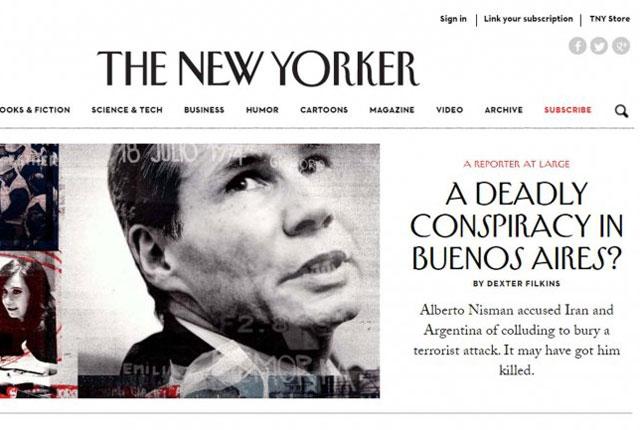 """Cristina Kirchner, según The New Yorker: """"dictatorial"""" y """"obsesionada con su imagen"""""""