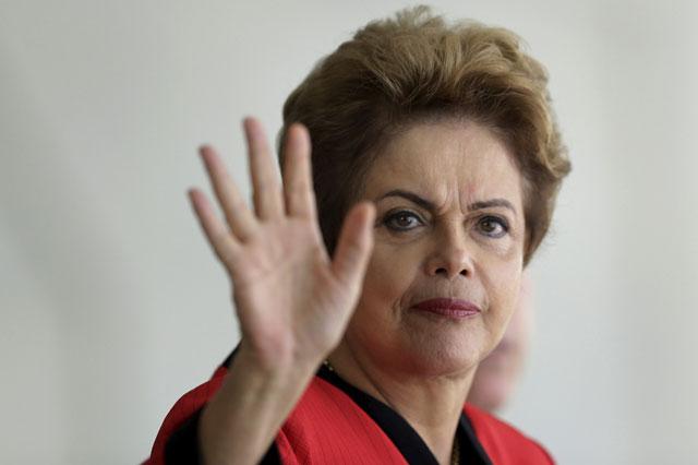 """Dilma Rousseff: """"Jamás pienso en renunciar"""""""