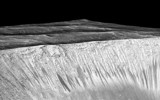 Señales de agua en Marte: un hallazgo de la NASA, indicio de que podría haber vida