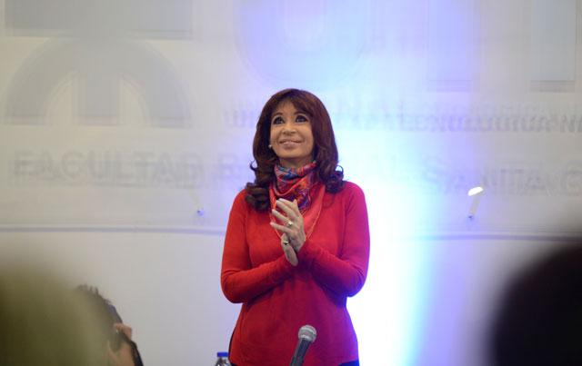 Llegó la presidenta y anunciará los fondos para el Acueducto que el kirchnerismo se negó a aprobar desde 2011