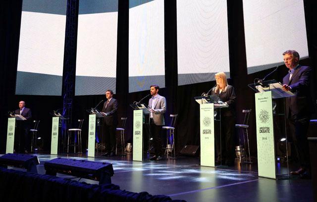 Debate presidencial: más propuestas que confrontación entre los candidatos