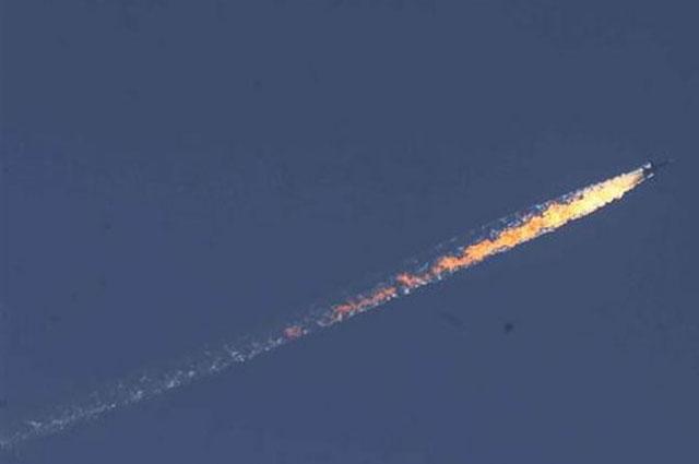 Turquía derribó un avión ruso en Siria por violar su espacio aéreo