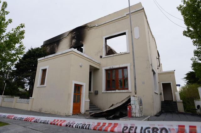 La Cámara Oral incendiada no tenía vigilancia electrónica y se presume un hecho intencional