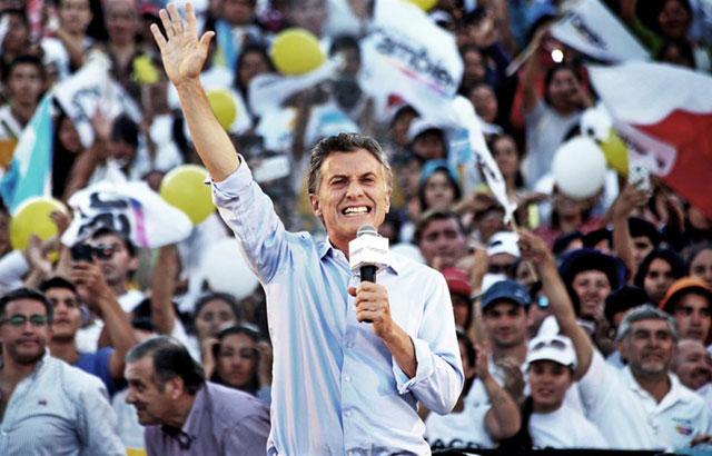Macri: apelaciones al cambio en un colorido cierre en Humahuaca