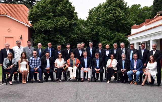 Amplio respaldo a Macri entre los gobernadores