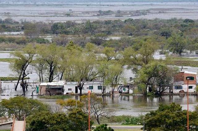 Alerta meteorológica para las zonas más castigadas por la inundación