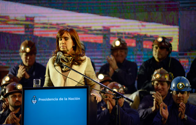 Isolux Corsán puso en riesgo de ser irradiada a Cristina Fernández, en su visita a la Termousina
