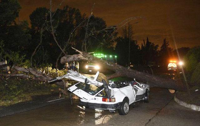 Son tres los muertos por el temporal en Córdoba