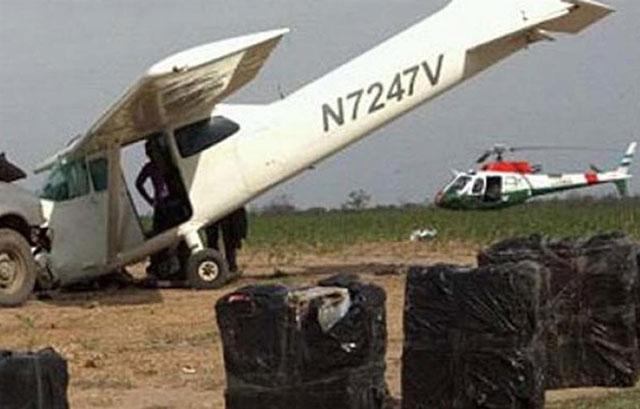 Santiago del Estero: avioneta cargada con marihuana cayó cuando intentaba aterrizar