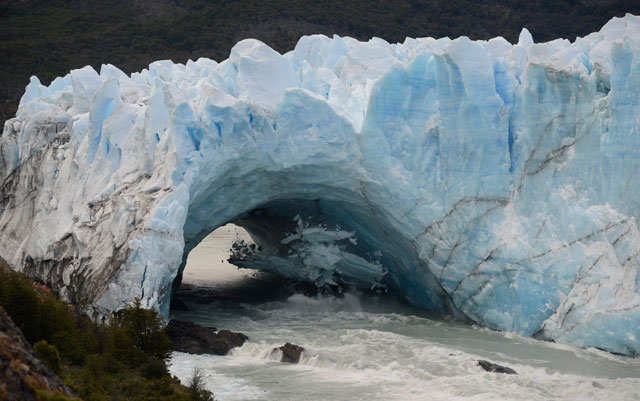 La ruptura del Glaciar Perito Moreno – Foto: OPI Santa Cruz/Francisco Muñoz