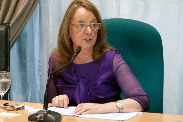 La Gobernadora Alicia Kirchner en la Cámara de Diputados de Santa Cruz: Foto Prensa de Gobierno