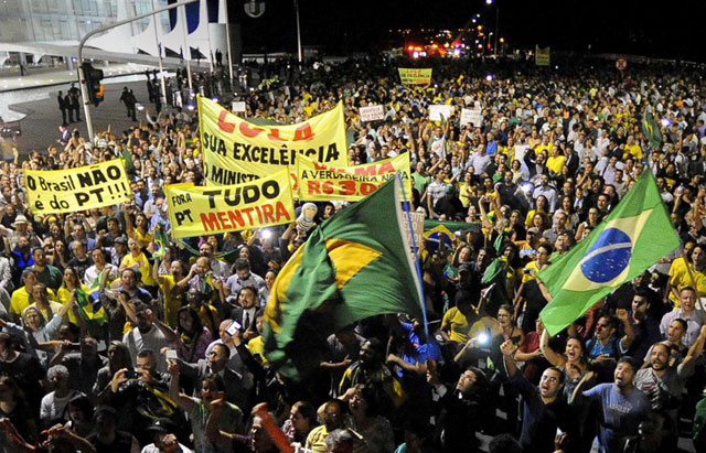 Brasil estalló por la nominación de Lula como ministro