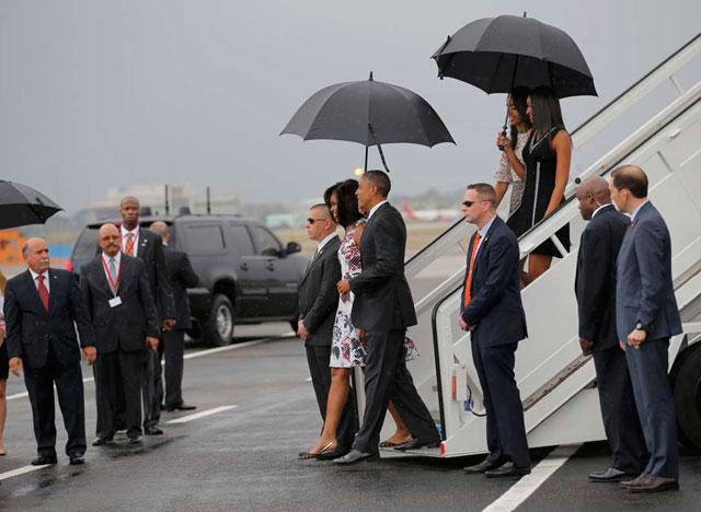 Barack Obama llegó a Cuba y dio inicio a una nueva era