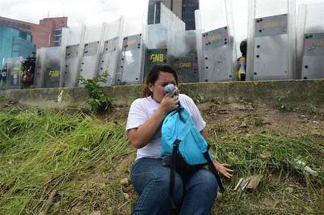 Venezuela: una nueva marcha opositora termina en represión
