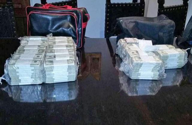José López detenido mientras escondía bolsos con dólares en un convento