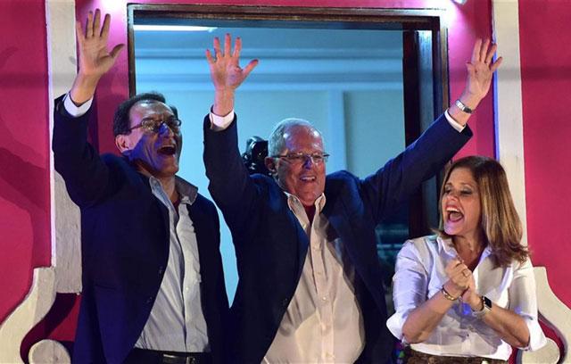 El liberal Kuczynski sorprendía en Perú