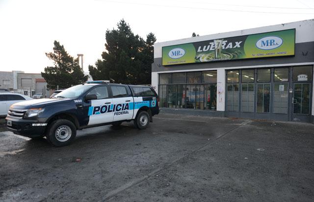 Allanan empresa M&P S.A de Lázaro en Río Gallegos
