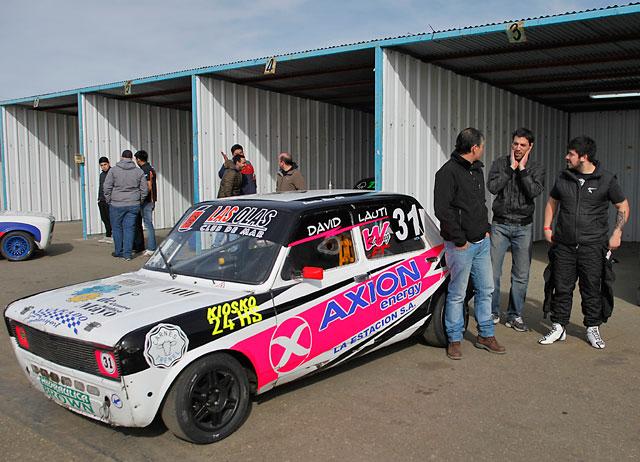 Al mal tiempo buena cara: Leandro Báez despunta el vicio en el Autódromo de Río Gallegos