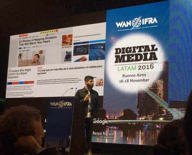 La importancia de las redes sociales en el periodismo, eje de debate entre editores