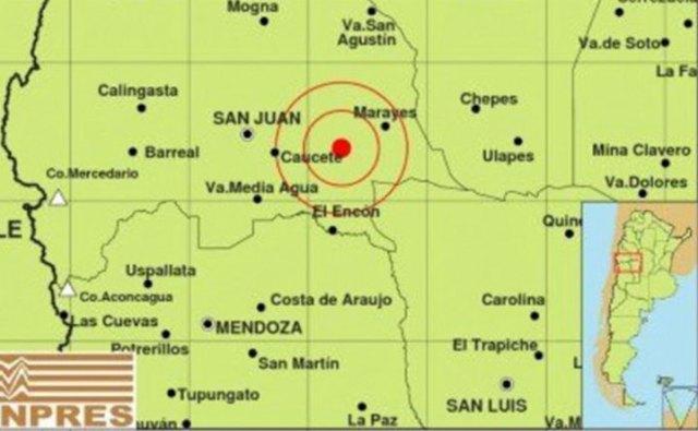 Una seguidilla de siete sismos generó alarma en San Juan