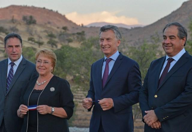 Macri y Bachelet refuerzan la integración regional para combatir el proteccionismo