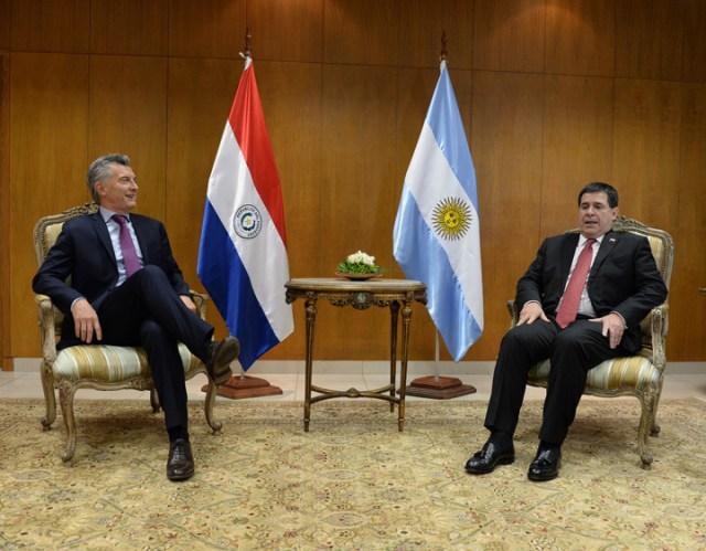 Narcotráfico: Macri acordó más controles con su colega paraguayo