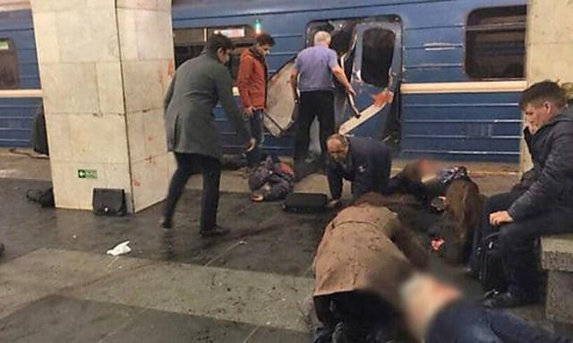 Atentado en el metro de San Petersburgo: hay al menos 10 muertos