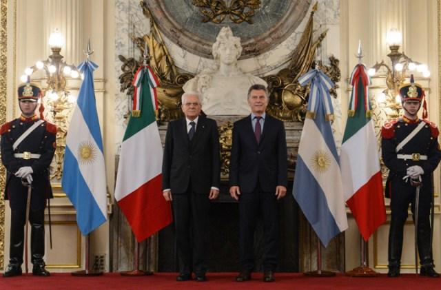 Macri selló con su par de Italia pactos para relanzar la relación