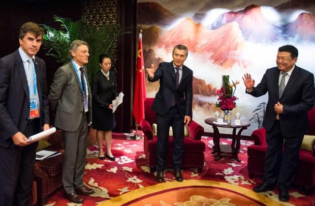 Mauricio Macri se reunió con poderosos empresarios chinos que buscan invertir en la Argentina - Foto: Presidencia
