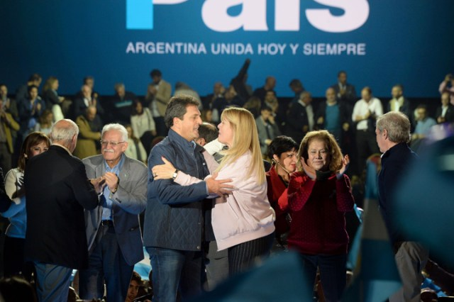 "Sergio Massa: ""Si Cristina vuelve a aparecer, vamos a volver a frenarla como hace cuatro años"""
