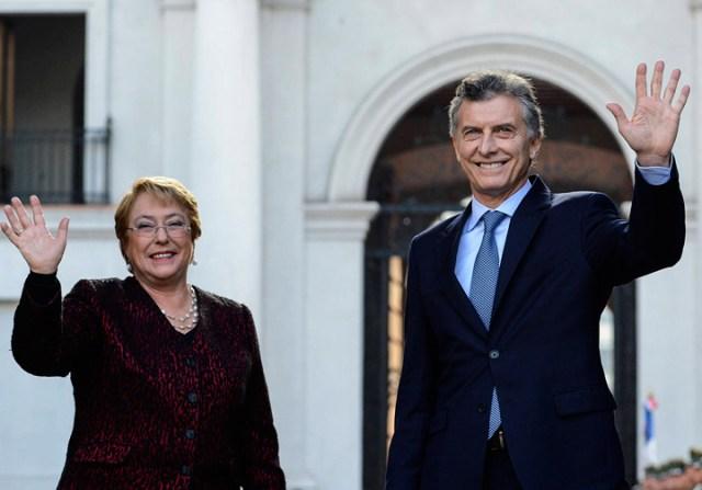 En Chile, Macri insistió en la integración con el Pacífico y criticó al kirchnerismo