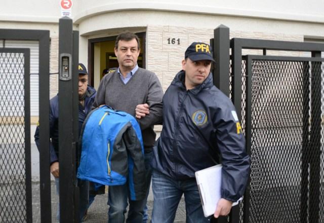 Último Momento: detienen al contador de Kirchner Víctor Manzanares