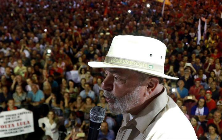 Lula lidera encuestas a 48 días de las presidenciales en Brasil