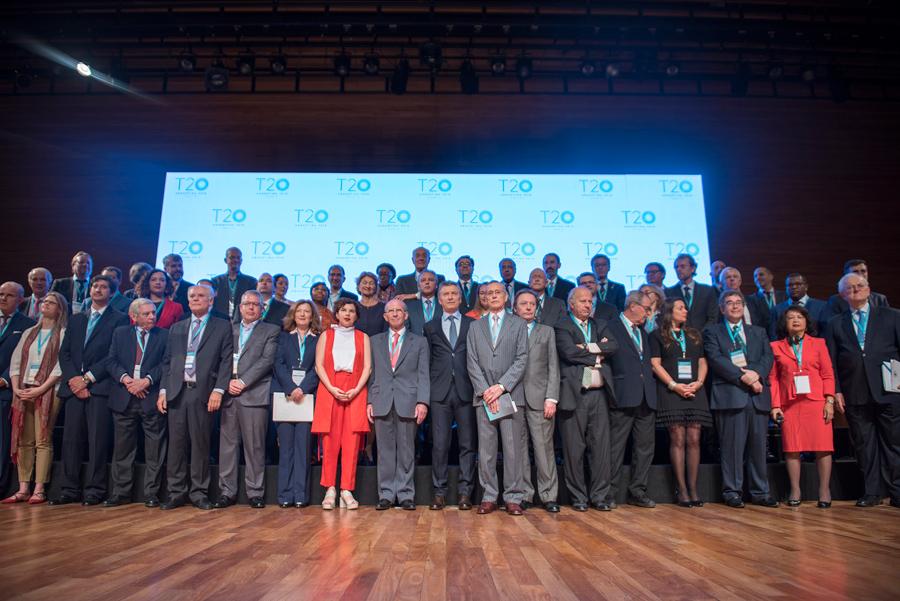Macri encabezó la apertura del encuentro